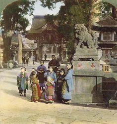 Le Japon ancien en 3D