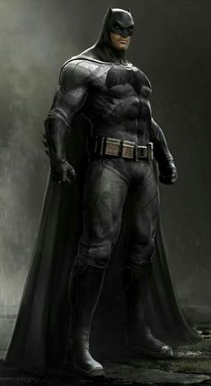 Batman concept art (Ben Affleck)