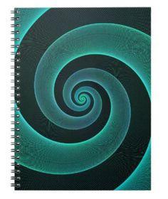 Spiral Spiral Notebook $14.35 *** Light blue wired spiral - notebook