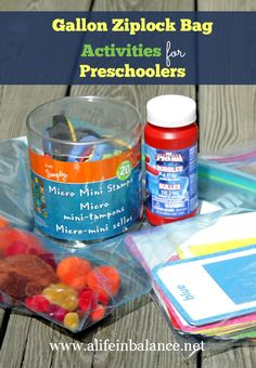 gallon ziploc bag activities for preschoolers    guest post on teachmama.com by @BarbHoyer @Barb Hoyer: A Life in Balance