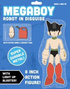 Megaboy: Robot in Disguise Art Print