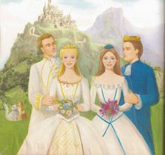 Princess and the Pauper Double Wedding