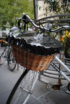 Bike basket cover
