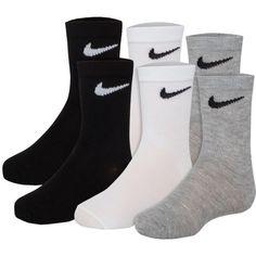 760a0c2e725 Nike Kids  Performance Crew Socks 6 Pack