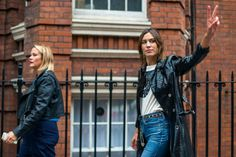 Now that London Fashion Week has come to a close, sneek a peek at our top street style looks #KOKET #lovehappensblog #streetstyle #lfw #lfw2016
