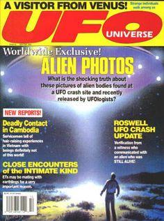 UFO UNIVERSE #6: Winter 1991, NM/M, $10