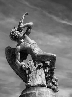 The Fallen Angel, by Ricardo Bellver (1877, Madrid)