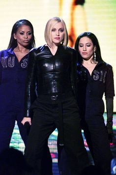 "On February Madonna performed ""Music"" at the 2001 Grammy Awards Madonna Music, Madonna 80s, Best Female Artists, Madonna Photos, Rock & Pop, Geena Davis, Musica Pop, Some Girls, Business Women"