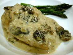 chicken with morels tonight s dinner ina garten s chicken with morels ...