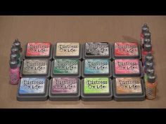 Five Minutes Of Fun With The 2nd Release Of Distress Oxide Colors - Joggles Blog