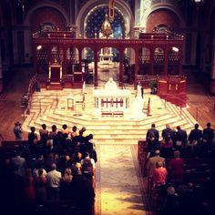 Cathedral Sacramento wedding