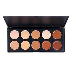 10 Colors Professional Powder Pro Coverage Palette – USD $ 14.99