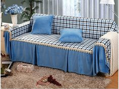 23 best plaid sofa images french country decorating lounges rh pinterest com
