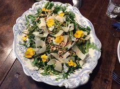 Arugula asparagus salad