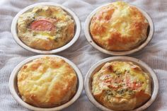 Baked morning eggs. perfect cabin food