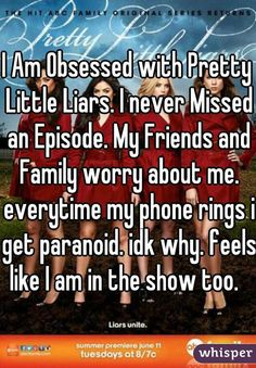 """17 A-nonymous Confessions From """"Pretty Little Liars"""" Fans"""