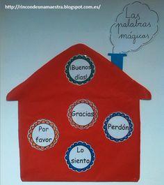 Rincón de una maestra: Palabras mágicas