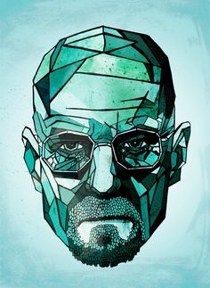 Walter White - Breaking Bad - I really like how it reflects that at the end, The meth was all that was left for Walter, it became more than a job, more than an obsession. It became...Him, really. At least that's how I see it.