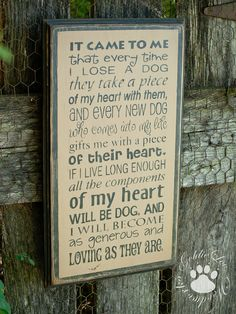 It Came To Me Primitive Wood Wall Sign Dog by GoldieLooWoodworks Dog Signs, Wall Signs, Pug Love, I Love Dogs, Animals And Pets, Cute Animals, Losing A Dog, White Dogs, Dog Quotes