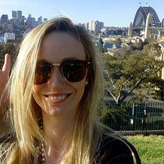 The most random trip so far #throwback #Sydney #sydneyharbourbridge #tbt #travel #australia #blonde #sun #holiday by tasha_hemmings http://ift.tt/1NRMbNv