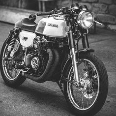 motomood — Honda CB350F cafe racer