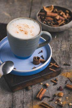 Cukormentes chai latte