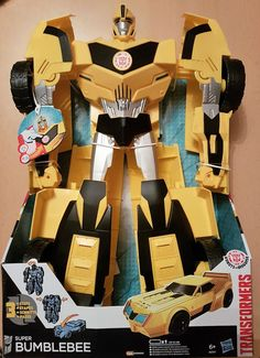 Hasbro Transformers B0757EU4 - Robots in Disguise Super Bumblebee, Actionfigur
