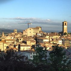 Medeivel town in Italy