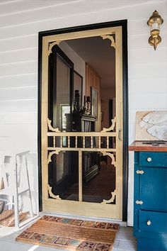20 Easy Projects To Transform Your Home This Year. Farmhouse Front DoorsVintage  Screen ...