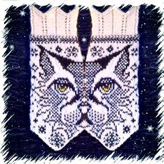 How amazing are these? Ravelry: Love Lo (Lynx mittens) pattern by JennyPenny Fingerless Mittens, Knit Mittens, Knitted Gloves, Knitting Socks, Wrist Warmers, Hand Warmers, Stitch Patterns, Knitting Patterns, Mittens Pattern
