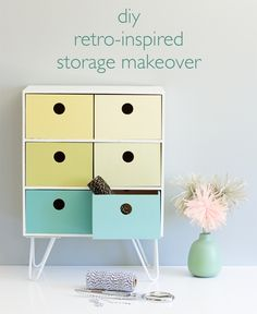 DIY Retro-Style Storage Makeover