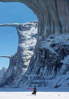 Golconda Ice Bridge by Nicolas Montecristo