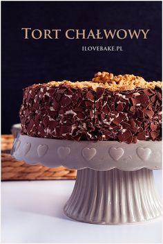 Tort chałwowy - ilovebake.pl