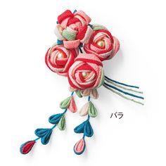 色の重なりで華やぐ カラフルつまみ細工ミニブーケの会(6回限定コレクション)|フェリシモ