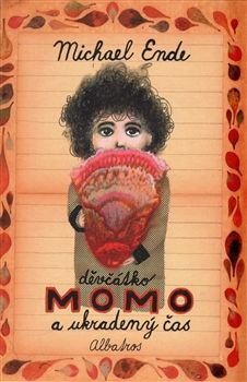 Obálka titulu Děvčátko Momo a ukradený čas