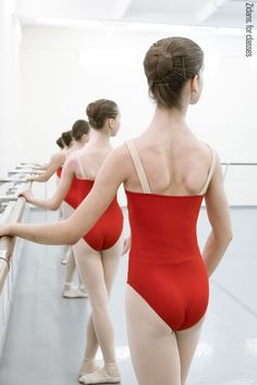 For classes and schools Adult Ballet Class, Red Leotard, Dance It Out, Cheer Dance, Ballet Leotards, Ballet Dance, Pilates Fitness, Ballet Fitness, Dance Wear