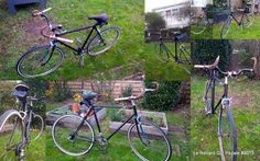 Baratheon,  home made bike from old school Peugeot by #lerenardquipedale