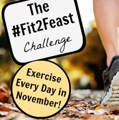 Get Fit before You Feast: A November Challenge! via Workout ever day in November up to and including the day before Thanksgiving to help keep off holiday weight gain! Best Fitness Programs, Workout Programs, Fitness Tips, Fitness Motivation, Fitness Fun, Exercise Motivation, Fitness Goals, How To Start Exercising, Health And Wellness