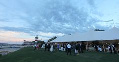 Hilton Head Wedding Reception // Sperry Tents Southeast // Skyline Tent Company
