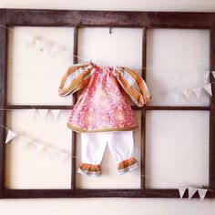 A personal favorite from my Etsy shop https://www.etsy.com/listing/267864955/baby-tunic-set-newborn