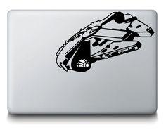Millennium Falcon Star Wars MacBook Laptop Car Wall Mac Ipad Locker Decal Sticker