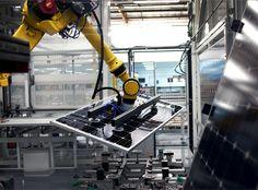 SolarWorld's plant in Hillsboro, Oregon - Courtesy SolarWorld #solar