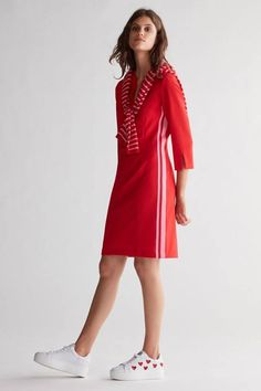 Dresses For Work, Beautiful, Mini, Tops, Shopping, Design, Fashion, Dress Red, Dress Work