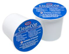 Crappy coffee?  Clean your single-serve brewer with a FREE CleanCup from Urnex #cleaning #coffee