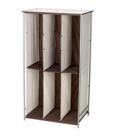 Boot Storage   like the idea, not sure of the durability. Maybe something similar but more sturdy?   Walmart $40