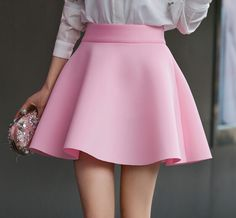 We+offer+FREE+and+expedited+EMS+shipping+for+USA+and+first+class+HONG+KONG+POST+for+any+other+country+in+the+world.+customer+service+is+included+in+the+price+too! Cute Skirts, A Line Skirts, Dress Outfits, Cute Outfits, Blue Skirt Outfits, Dresses, Skirt Fashion, Fashion Outfits, Womens Fashion