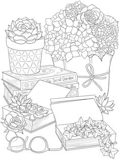 Welcome to Dover Publications Detailed Coloring Pages, Free Adult Coloring Pages, Printable Coloring Sheets, Online Coloring Pages, Cute Coloring Pages, Flower Coloring Pages, Free Coloring, Coloring Books, Tumblr Coloring Pages
