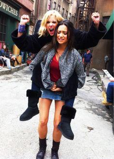 Ashley and Shay #Keeganing