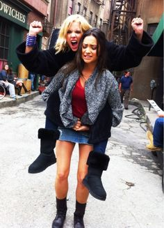 Ashley and Shay #Keeganing