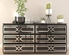 13 Ikea Malm Hacks You've Probably Never Seen Before - Hacksaholic Mirrored Furniture, Refurbished Furniture, Ikea Furniture, Furniture Stores, Silver Furniture, Office Furniture, Furniture Cleaning, Furniture Ideas, Furniture Removal